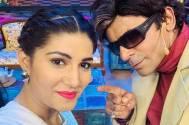 Sapna Choudhary and Sunil Grover