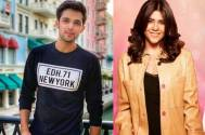 Parth Samthaan and Ekta Kapoor