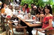 Bepannah actress Jennifer Winget enjoys Sunday lunch with friends
