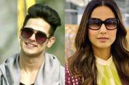 Priyank Sharma and Hina Khan