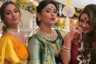 Hina Khan, Pooja Banerjee, and Shubhavi Choksey