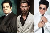 Dilip Kumar, Hrithik Roshan, and SRK