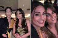 Hina Khan and Urvashi Dholakia