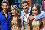 Mouni, Arjun, and Karanvir
