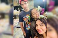 Parth Samthaan, Erica Fernandes, and Pooja Banerjee
