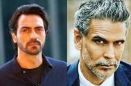 Arjun Rampal and Milind Soman