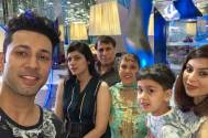 Family time for Sahil Anand