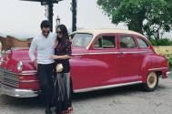 Ssharad Malhotra and Ripci Bhatia quick holiday to Udaipur