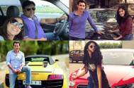Check out TV celebs who own expensive cars and bikes