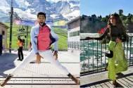 Kasautii Zindagii Kay's Parth Samthaan and Erica Fernandes holiday in Switzerland