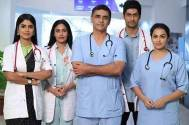 Sayantani turns teacher for Surbhi and Namit on the sets of Sanjivani 2