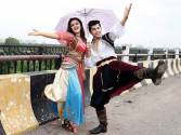 Alladin's Siddharth Nigam and Avneet Kaur enjoy rains in Lucknow