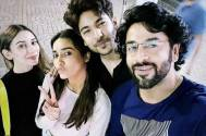 Surbhi Jyoti, Heli Daruwala, Shivin Narang and Shashank Vyas enjoy The Lion King and pose for a cool photo