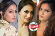 Hina Khan, Surbhi Jyoti ,and Rubina Dilaik