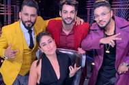 Kareena Kapoor poses with THIS 'Buooooyyyz' on Dance India Dance sets
