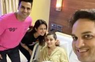 Divyanka and Vivek Dahiya give a SWEET SURPRISE to new parents Vikas and Priyanka Kalantri!