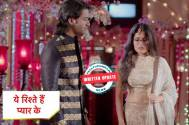 Yeh Rishtey Hain Pyaar Ke: Mishti and Abir's love confession leaves everyone shocked