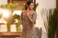 Divyanka Tripathi looks dazzling in THIS gold shimmery gown