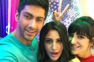 Check out how Sanjivani's Surbhi Chandna, Namit Khanna and others have a blast on the sets