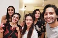 Kuch Rang Pyar Ke Aise Bhi's Shaheer Sheikh and Erica Fernandes celebrate Supriya Pilgaonkar's birthday