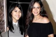 Ekta Kapoor and Mona Singh