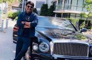 Kapil Sharma poses with 2019 Bentley Mulsanne car in style