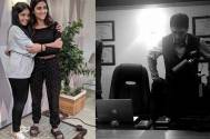 When Mohnish Bahl's daughters visited their dad on the sets of Sanjivani