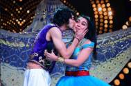 Oh My God! Did Shantanu Maheshwari kissgGirlfriend Nityami Shirkeo on Nach Baliye?