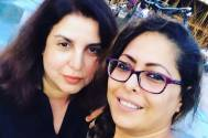 Geeta Kapoor wishes Farah Khan Happy Teacher's Day; shares an unrecognizable picture