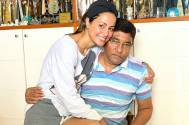 Hina Khan is her daddy's cute girl