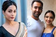 Hina Khan's wishes for Nach Baliye 9's Pooja Banerjee and Sandeep Sejwal