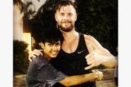 Rudhraksh Jaiswal thrilled to get birthday wishes from the superhero of his life, Chris Hemsworth