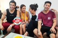 Parth Samthaan, Shubhvi Choksey, and Sahil Anand pays SURPRISE VISIT to Pooja Banerjee