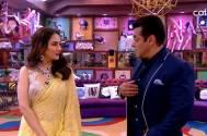 Madhuri recreates iconic 'Didi Tera Dewar Deewana' moment with Salman on Bigg Boss 13