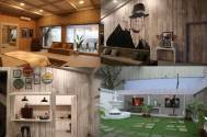 The Superstar's Den Wood and beige interiors make an elegant statement in Salman Khan's chalet on the Bigg Boss sets