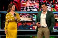 Former contestant Hina Khan comes bearing messenger for the housemates