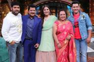 Udit Narayan and family on The Kapil Sharma Show