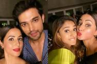 Must Check: Hina Khan shares adorable pictures with Parth Samthaan, Erica Fernandes and Karan Singh Grover