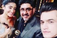 Yeh Rishta Kya Kehlata Hai's Mohsin Khan, Shivangi Joshi, Rajan Shahi pose for a selfie; give us 'teamwork goals'