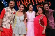 The Khatra Show: Hina Khan, Jasmin Bhasin, Bharti Singh, Haarsh Limbachiyaa, Punit make for a HAPPY picture