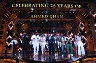 Choreographers pay tribute to Ahmed Khan as he completes 25 glorious years as a choreographer