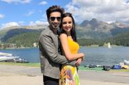 Sanaya Irani, Mohit Sehgal pose for an ADORABLE photo as they celebrate Diwali together