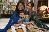 Shweta Tiwari's daughter and son's cute jam session on Bhai Dooj