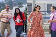 TV Actors Shweta Tiwari and Varun Badola shoots in Delhi for Mere Dad Ki Dulhan