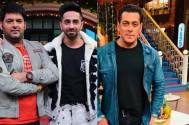 The Kapil Sharma Show: Ayushmann Khurrana compliments Kapil's shoes; the comedian gives credit to Salman Khan