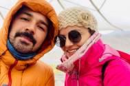 Rubina Dilaik and Abhinav Shukla go for MOUNTAINEERING; set major TRAVEL GOALS