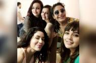 Ishqbaaaz girl gang Surbhi Chandana, Shrenu Parikh & Mansi Srivastava party hard and give us major friendship goals