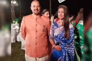YRKKH's Mohena Singh and husband Suyash's GRAND wedding reception; check their STUNNING look