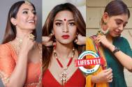 The current colour which seems to be ruling Hina Khan, Erica Fernandes and Niti Taylor's wardrobe is...