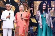 Pyarelal Ji's interest in Jannabi's instrument Kazo on the stage of Indian Idol Season 11